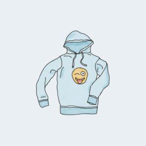 hoodie with logo 300x300 - Bluza z logo