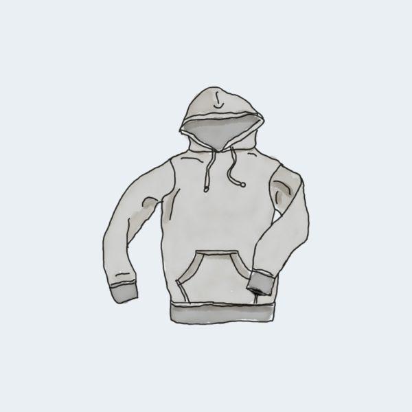 hoodie with pocket 600x600 - Bluza z kieszenią