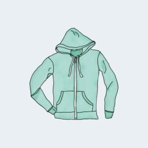 hoodie with zipper 300x300 - Bluza z zamkiem